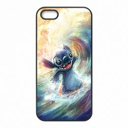 Wholesale Lilo Stitch Phone Cases - Lilo and Stitch Phone Covers Shells Hard Plastic Cases for iPhone 4 4S 5 5S SE 5C 6 6S 7 Plus ipod touch 4 5 6