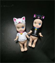 Wholesale Japan Pvc Figures - 8 cm Japan 2pcs lot 8cm Sonny Angel Animal Baby Action Figure Original Limited Edition Gift for Baby Kids Cute Kawaii action figure toys