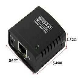 Wholesale Network Share - Mecall Tech USB 2.0 LPR Printer Print Server Hub Adapter Ethernet LAN Networking Share Cheap usb 2.0 server