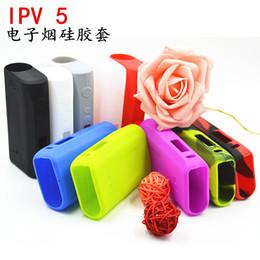 2019 pioneer4you ipv box mod Funda de silicona para Pioneer4You iPV 5 200W TC VW Ecig Box Mod Funda protectora de silicona de 19 colores para IPV5