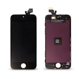 Дигитайзер экрана сотового телефона онлайн-ЖК-дисплей для iPhone 5 iPhone 5s iPhone 5c дигитайзер экран Ассамблеи сотовый телефон высокое качество