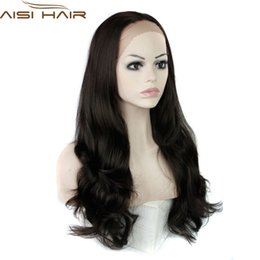Wholesale High Quality Wigs For Cheap - Wholesale-Lace Front Synthetic Wigs hair wig black curly cheap heat resistant fiber african american lace wig for black women high quality