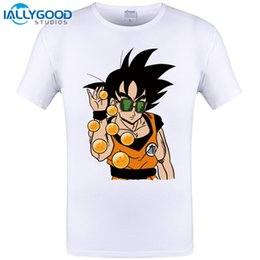 Wholesale Dragon Ball Z Cooler - Super Saiyan 2017 New Fashion Son Goku Men T Shirt O-Neck Casual Famous Tops The Dragon Ball Z Cool Funny Tee Top Plus Size 6XL