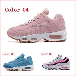 Wholesale Deep Cool - Discount Cool Running Shoes Women Air Cushion 95 Sport Cheap Walking Boots Sneakers Women Outdoor Jogging Athletic Shoes