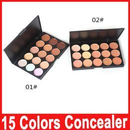 Wholesale Daily Wear - Professional 15 Colors Concealer Foundation Contour Face Cream Makeup Palette Pro Tool for Salon Party Wedding Daily