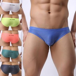Wholesale Brave Person - Wholesale high-quality nylon briefs Brave Person brand underwear men briefs fashion sexy men's briefs jacquard underpants