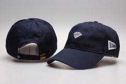 Wholesale Designer Visors - Fashion Designer Diamond Snapback Flat Brimmed Hats Supply For Adults Mens Womens Hip Hop baseball Caps Sun Diamond Visor Gorras Gift