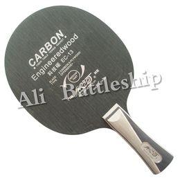 Wholesale galaxy base - 2016 Galaxy Table Tennis PingPong Pure 7 Wooden Base Racket Inorganic Professional Tennis de Table Fast Attack Blades EC-13