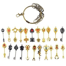 Wholesale Lucy Fairy Tail - Fairy Tail Lucy Heartphilia's Golden Zodiac Keys Set of 22 Cosplay Prop Accessories