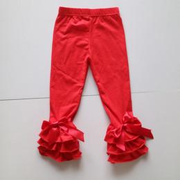 Wholesale Tight Leggings For Girl Kids - red leggings for girl kids triple autumn red tights wholesale Christmas leggings wholesale bulk selling triple leggings for baby girl