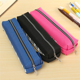 Wholesale Musical Pencil - Wholesale-Cute Mini Pencil Bag Pen Eraser Ruler Holder Home Sundries Pouch Bag Cloth Musical Piano Keyboard Storage Bags Stationery