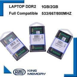Wholesale Ddr2 1gb - Laptop RAM DDR2 2GB 1GB 800MHz 667MHZ PC2 6400 53001G 2G notebook memory 200PIN original
