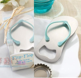 Wholesale Personalised Gift Boxes - Personalised Gift Boxed Thong Bottle Opener Beach Wedding Favour Bomboniere Great Gift - Custom favours beach Gift FREE SHIPPING H077