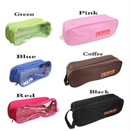 Wholesale Shoe Travel Bag Fabric - Waterproof Travel Outdoor Football Boot Sports Gym Shoe Tote Bag Carry Storage Case Box Organizer Container