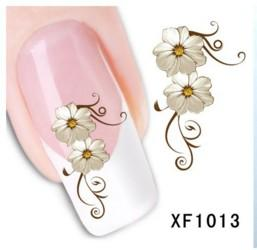 Wholesale Transfer Foil Nail Art Wholesale - 3D nail art water transfer nail stickers nail seal water decals transfers stickers manicure nails foils sticker