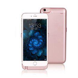 "Wholesale Wholesale Pink Iphone Charger - External Battery Backup Power Bank 10000mah Charger Cover Case Powerbank case for iPhone 6 6s Plus 4.7"" 5.5"" inch"