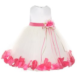 Wholesale Newborn Christening Gowns - Wholesale- Newborn Girl dress european wedding 1 year Birthday party Christening tutu dress Girl clothes infant dress for girls Clothing