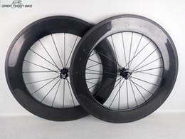 ruota ffwd 38mm Sconti Ruote in carbonio da 88mm con copertoncino per bici da strada con copertoncino da 1 anno. Verniciatura OEM opaca lucida