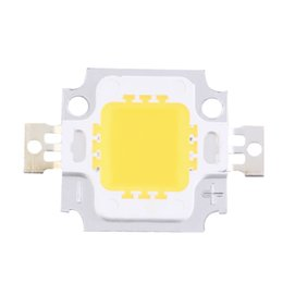 Wholesale High Power Led Flood - Wholesale-2pcs 10W High Power Integrated LED lamp Beads Chips SMD Bulb Warm White For DIY Flood light Spotlight