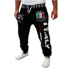 2019 pantaloni di yoga pieno di lunghezza del mens Pantaloni sportivi di design di stampa digitale di design all'ingrosso-italiano