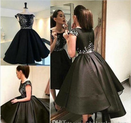 e7628f4218c white dress under graduation gown Promo Codes - 2017 New Little Black  Dresses Short Homecoming Dresses