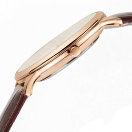 Wholesale Eyki Leather - Top Brand Watch EYKI Men Watches men's quartz-watch Ultra thin Leather Strap fashion casual montre homme Wristwatch waterproof