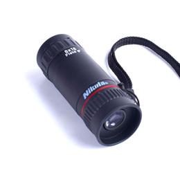 Télescope de vision nocturne mini monoculaire en Ligne-Nikula Monocular Telescope 8X18 Entièrement revêtue Optique hd qualité mini vision monoculaire nocturne Chasse Concert Concert Spotting Scope