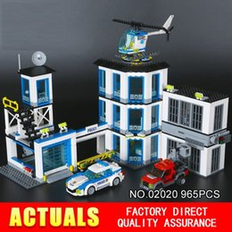 Wholesale Block C - CITY P O L I C E STATION- LEPIN BLOCKS LEPIN BRICKS 02020