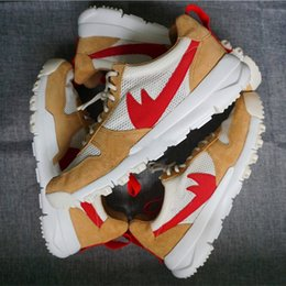Wholesale Quality Craft - 2017 Tom Sachs x Craft Mars Yard TS NASA 2.0 Men's Running Shoes Fashion High Quality Craft Mars Yard Size 5.5-11