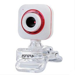 Wholesale Cmos Computers - New USB 2.0 12 Megapixel HD Camera Web Camera with MIC Clip-on for Desktop Skype Computer PC Laptop