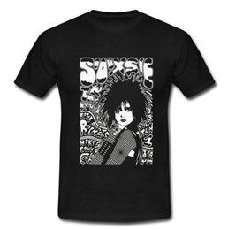 Wholesale Short Posts - SIOUXSIE AND THE BANSHEES POST PUNK GOTHIC THE CURE T-SHIRT S M L XL 2XL 3XL