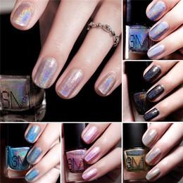 Wholesale Colour Gel Nails - 2016 Fashion Smartly Dazzle Colour Nail Polish Lacquer 12 Colors Easy Day Diamond Laser Nail polish Nail Decoration Nail Art Salon Gel F618
