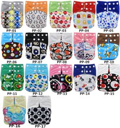 Wholesale Diapers One - Asenappy Baby Reusable Suede Cloth Pocket Diaper Covers Nappy All in One Size with one microfiber insert