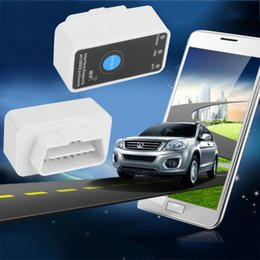 Wholesale Elm327 Obdii Wifi - Wholesale-MINI ELM327 WIFI ON OFF Switch V2.1 ELM327 WIFI OBD2 OBDII ELM 327 CAN-BUS Diagnostic Tool for IOS iPhone iPad Android