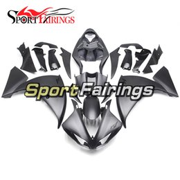 Wholesale R1 Decals - Injection Fairings For Yamaha YZF1000 R1 09 10 11 2009 - 2011 ABS Plastic Motorcycle Fairing Kit Sportbike Cowlings Flat Black Grey Decals