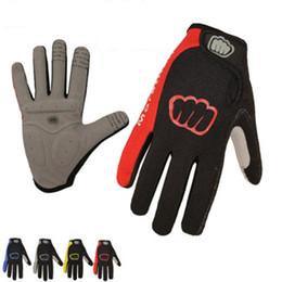 Wholesale Road Bicycle Winter Gloves - Women Men Winter Cycling Gloves Full Finger Bicycle Gloves Anti Slip Gel Pad Motorcycle MTB Road Bike Gloves M-XL