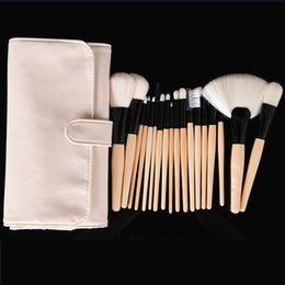 Wholesale Tool Sheds - Professional Makeup Brushes Set Superfine Soft Synthetic Fiber Hair Makeup Tools Kit with Bag No Shedding No Smell Well Made
