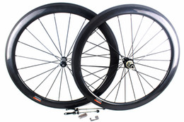 Wholesale Carbon Cycling Wheelset Clincher - 50mm carbon road bicycle wheels Powerway Hub R36 Basalt brake surfce clincher tubular road cycling bike racing wheelset width 25mm