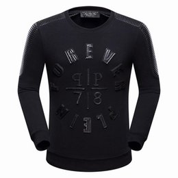 Wholesale Leather Jackets Lapels Men - New arrive Hip Hop Tide brand Match Leather Mens Hoodie sporty Style Men Casual Hoodie Jacket P7006 M-XXXL