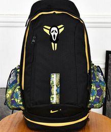 Wholesale Canvas Backpack For Teenagers - hot seller 2Fashion KOBE Men Backpacks Basketball Bag Sport Backpack School Bag For Teenager Outdoor Backpack Marque Mochila