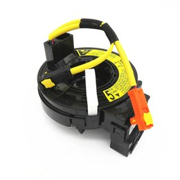 cable espiral toyota corolla Rebajas Nuevo Black 84306-02110 Air Bag Spiral Cable Sub-Assy Reloj de primavera para 2003 2004 2005 2006-2008 Toyota Corolla Matrix 8430602110