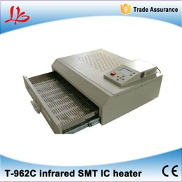 Wholesale Rework Oven - High quality Puhui T962C 2500W reflow oven infrared SMT IC heater BGA rework station