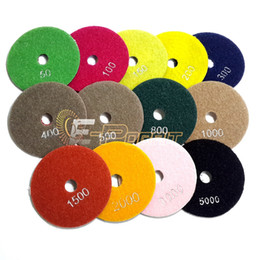 """Wholesale Grind Disc - 4"""" Diamond Flexible Polishing Pad Wet Grinding Disc for Marble Stone Glass Ceramics"""