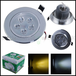 Wholesale Recessed Ceiling Light Led 1w - 1W 3W 5W 7W 12W LED Cabinet Recessed Spotlights Downlights Ceiling Light Fixture Bulb Downlight Lamp LLWA192
