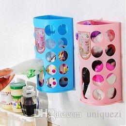 Wholesale Carrier Bag Holder Dispenser - Hot Plastic Carrier Bags Storage Dispenser Holder Organiser Shopping Rack