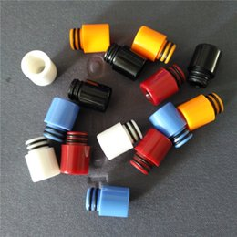Wholesale Rda Drip Tips - 510 ABS Drip Tips Wide Bore plastic Drip Tip Fit RDA RTA Atomizers cheapest acrylic mouthpieces