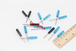 Wholesale Mini Camera Screw - Slotted straight screw driver mini phillips cross head Flathead Screwdriver Opening Tools for Cell Phone Samsung iPhone camera e cigarette