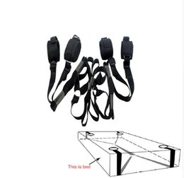 Wholesale Sex Toys Cuffs - 2016 Erotic Toys Under Bed Restraint Bondage Fetish Sex Products Hand & Ankle Cuff Bdsm Bondage Sex Toys For Couples Adult Games