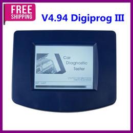 Wholesale Odometer Kit - Free Shipping!V4.94 Digiprog III Digiprog3 Odometer Master Programmer Entire Kit DP3 Digiprog3 Milleage Auto Programmer Multi-language