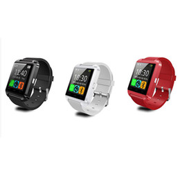 Wholesale Digital Camera For Vehicle - Original U8 Smart Bluetooth Watch WristWatch sport digital U8 u watches for Android Samsung phone Note high quality Wearable Device
